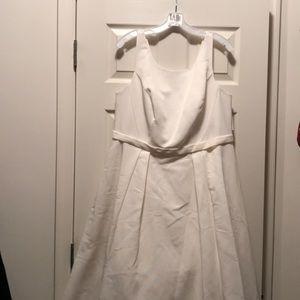 Ivory Wedding Dress from David's Bridal size 16